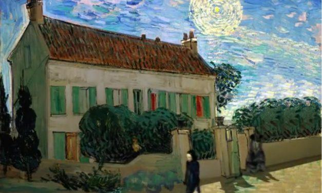 Van Gogh paintings provide window into future